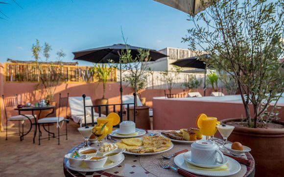 Marrakech - Maison d'Hôtes Chamade