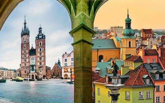 Train tour Cracovia + Varsavia