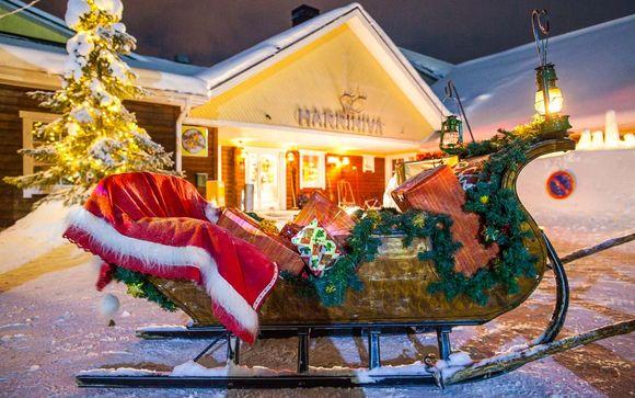 Viaggio Villaggio Di Babbo Natale.Tour Della Lapponia Finlandese Con Possibile Visita Al Villaggio Di Babbo Natale Kittila Fino A 70 Voyage Prive