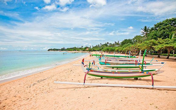Romantica Bali tra templi, spiagge e giungla in 4 e 5*