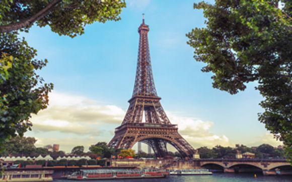 Uw inbegrepen excursie indien u kiest voor de aanbieding met Eiffeltoren