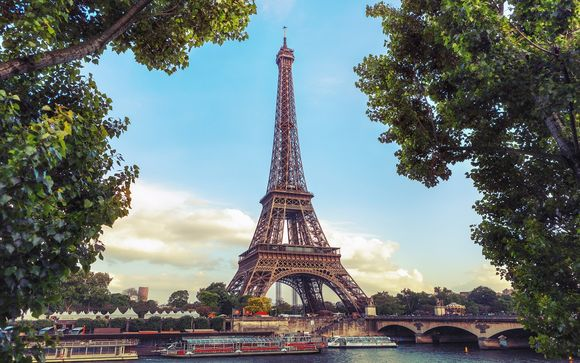 Uw inbegrepen excursie indien u kiest voor de aanbieding met de Eiffeltoren