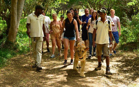 Uw inbegrepen excursie tijdens uw optionele verlenging naar Mauritius