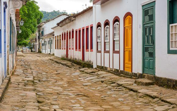 Stopover in Paratay in Hotel Pousada da Marquesa