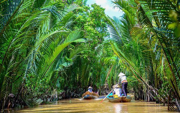 Uw optionele verlenging naar het zuiden van Vietnam