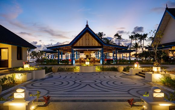 Uw verlenging naar Hotel Saii Lagoon Curio Collection by Hilton 5*