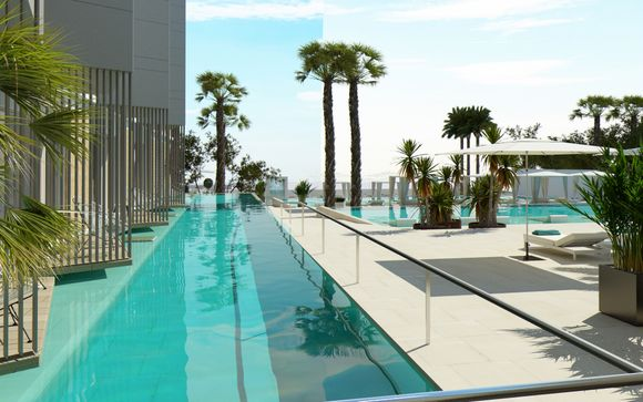 Fabulous Adults Only Hotel with Rooftop Pool