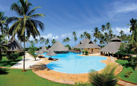 All Inclusive Relaxing by the Indian Ocean