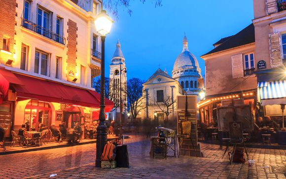 Destination...Paris, Montmartre