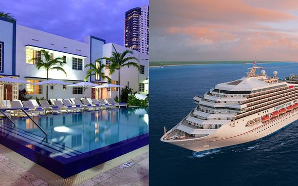 Boutique South Beach Bliss & Optional Caribbean Cruise