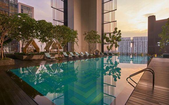 Oasia Hotel Downtown Singapore 4*