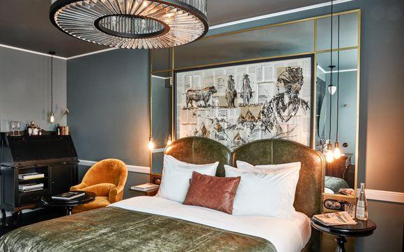 Boutique Design Hotel in Upmarket Charlottenburg
