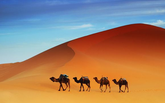 Atlas Mountains, Canyons and Sahara Tour with Optional Marrakech Stay