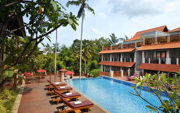 3 nights at the Best Western Agung Resort 4*