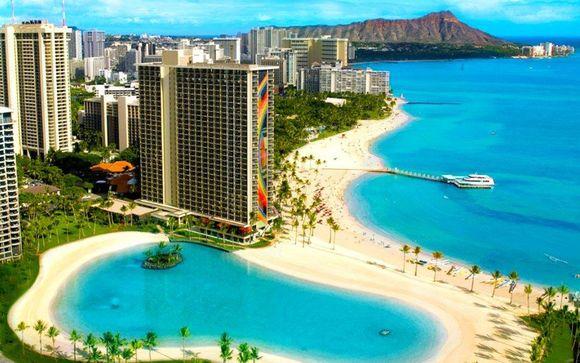 Hotel Palomar & Hilton Hawaiian Village 4*