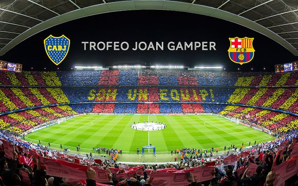 Gamper Cup Barcelona Experience with 4* Hotel Stay