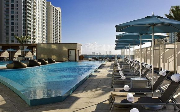 Kimpton EPIC Hotel Miami 4* & Optional New York Stopover