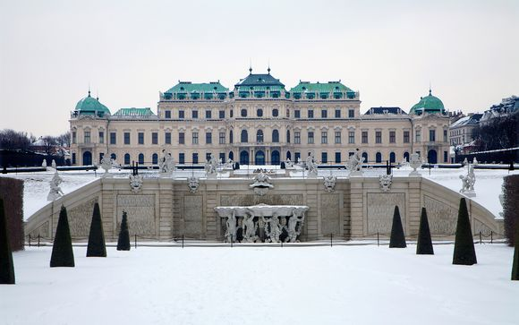 First Class Hotel next to Belvedere Palace