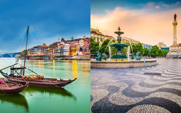 Porto and Lisbon by Train 4*