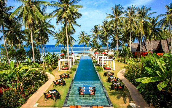 Kupu Kupu Phangan Beach Villas & Spa by L'Occitane 5* with Optional Centre Point Silom 4*