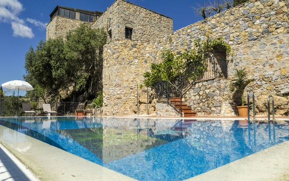 Modern Elegance in a Hilltop Andalusian Castle