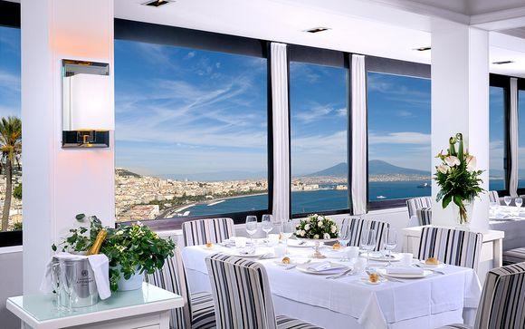 Hillside Hotel with Gulf of Naples Views