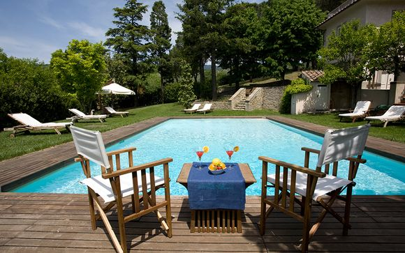 Stunning Grand Tuscan Villa Getaway