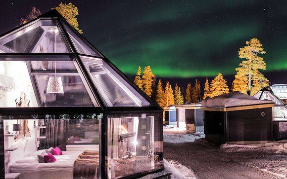 Aurora Borealis & Glass Igloo Stay