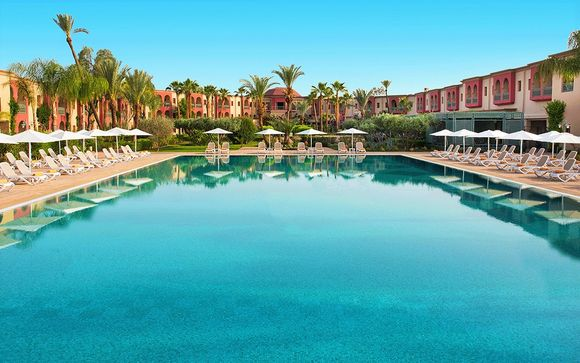 All Inclusive Resort in Exceptional Palm Tree Oasis