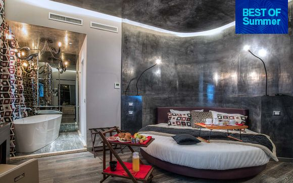 Sleek Contemporary Style Steps Away From the Pantheon
