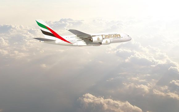Treat yourself to the luxury of Business Class or First Class with Emirates
