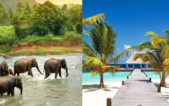 Discover Sri Lanka Tour & Maldives Stay
