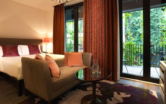 terrace room opt for a terrace room and retreat to your own peaceful terrace in the heart of london where you can unwind surrounded by urban
