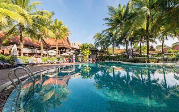 Khao Lak Bhandari Resort & Spa 4* & Optional GLOW Ao Nang Krabi 4*