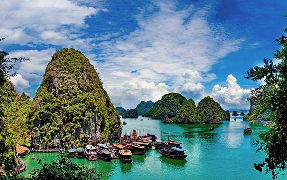 Mosaiques du Vietnam with Optional JW Marriott Marquis Dubai 5*