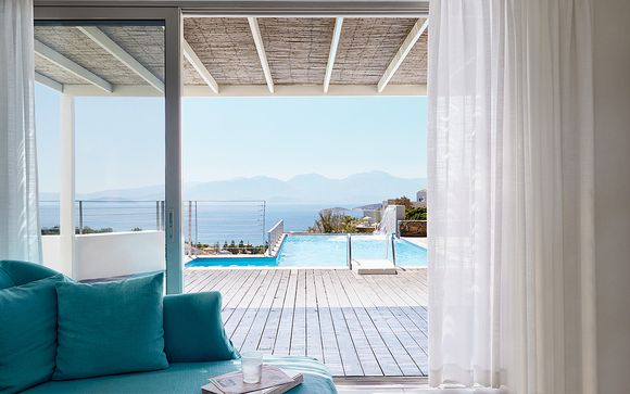 Private Pool Villas overlooking Mirabello Bay