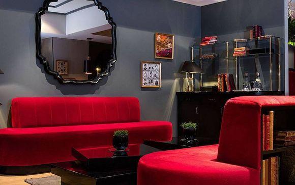 Theatre-Inspired Hotel near Boulevard Haussmann