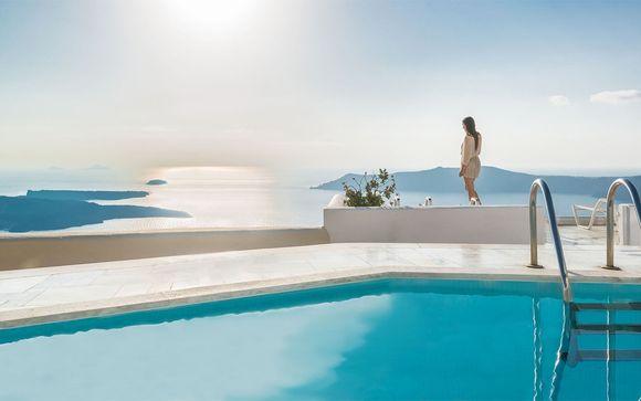 Panoramic Sunset Views of the Aegean