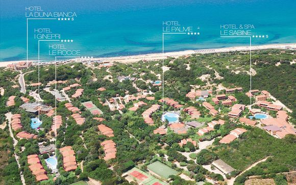 Resort & Spa Le Dune 4*