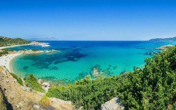 Beachfront Resort with Mount Olympus Views