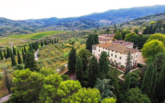 Discover Beautiful Wines and Countryside from an Ancient Villa