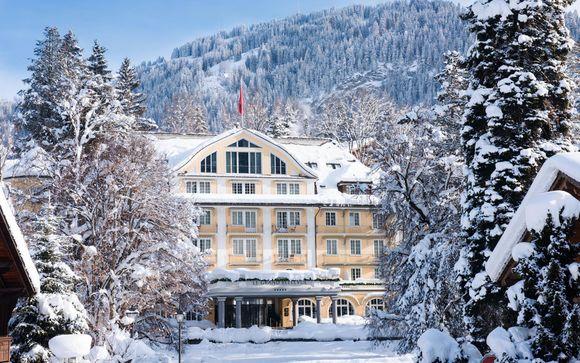 Elegante hotel di lusso con accesso alla Spa