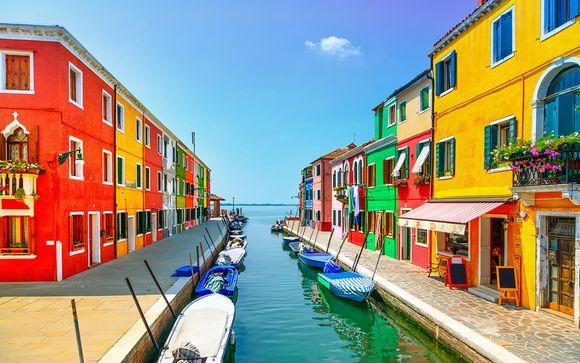 Raffinate atmosfere 4* sull'isola di Murano