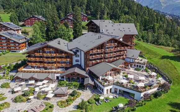 Soggiorno in 5* nel cuore delle Alpi Svizzere