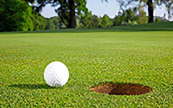 Votre partie de golf incluse