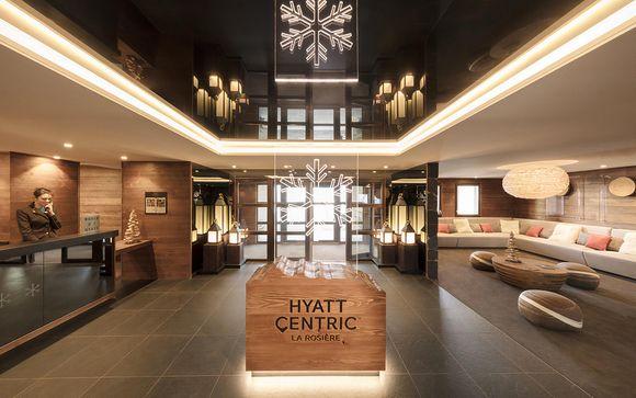 Hyatt Centric La Rosiere 4*