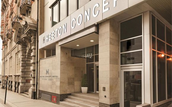 Heeton Concept Hotel City Centre Liverpool 3*