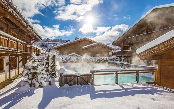 Autentico soggiorno in chalet alpino in una località di montagna chic