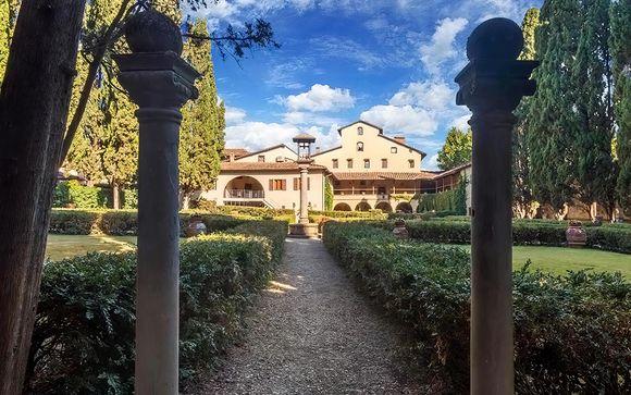 Soggiorno di relax in villa storica 4*