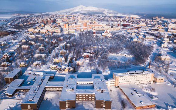 Kiruna, en la Laponia sueca, te espea